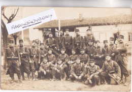 CPA PHOTO - 31 - TOULOUSE - MILITARIA - 14ème Régt 2ème Cie Souvenir Des Marches D'épreuves 1914 - Photo Laiger Camp De - Guerre 1914-18