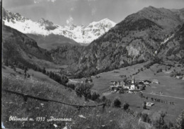 VALLE D'AOSTA - OLLOMONT - PANORAMA - VIAGGIATA 1960 - Italia