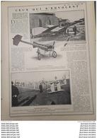 1907 AVIATION - CEUX QUI S'ENVOLENT - LA LIBELLULE DE BLÉRIOT - SANTOS DUMONT - HENRI  DE LA VAULX - DELAGRANGE - Vieux Papiers