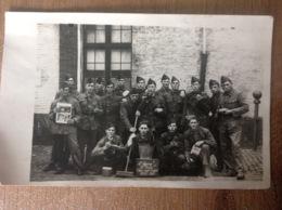 Camp De Beverloo ?  Photo Carte D'époque Militaire Militaria Soldats - Militaria