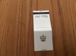 Pochette D'allumettes CANADA «Rideau Hall» (couronne) - Boites D'allumettes
