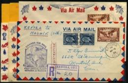 Canadá (Aéreos) Nº 5. Año 1935/6 - Gebruikt
