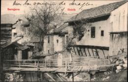 ! Alte Ansichtskarte Sarajevo, Bistrik, Hotel Europe - Jugoslawien