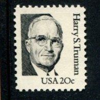 849418390 1984 SCOTT  1862 POSTFRIS MINT NEVER HINGED EINWANDFREI (XX)  GREAT AMERICANS - HARRY S TRUMAN - Nuevos