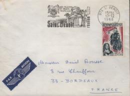 """Réunion  974 St Benoit 17-12 1968 Flamme =o """" Ses Plantes Et Fruits Tropicaux...sa Vanille Bourbon... - Poststempel (Briefe)"""
