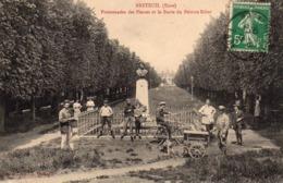 Breteuil - Promenades Des Plesses Et Le Buste Du Peintre Ribot - Breteuil