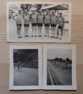 Cyclisme - Equipe ALLEGRO Suisse - Tour De Suisse En 1938 - Ph: Alfa - 1 Photo Carte Et 2 Photos - Ciclismo
