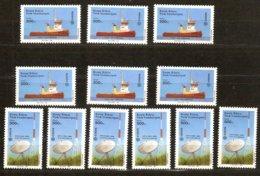 Cept 1988 Chypre Turc Turks Cyprus Yvertn° 208-209 *** MNH 6 Ex. Cote 24,00 € Transport Communication - Europa-CEPT