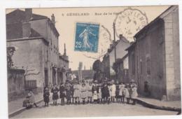 Saône-et-Loire - Génelard - Rue De La Gare - France