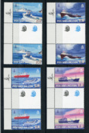 """Pitcairn - Mi.Nr. 836 / 839 Zwischensteg / Gutter-Pair - """"Versorgungsschiffe"""" ** / MNH (aus Dem Jahr 2011) - Pitcairn"""