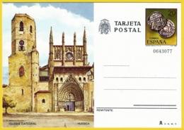 España. Spain. 1981. Postal Stationery. Entero Postal. Turismo. Iglesia Catedral. Huesca - 1981-90 Ongebruikt