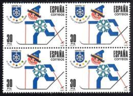 España. Spain. 1981. B4. UNIVERSIADA '81. Juegos Mundiales Universitarios De Invierno - 1931-Hoy: 2ª República - ... Juan Carlos I