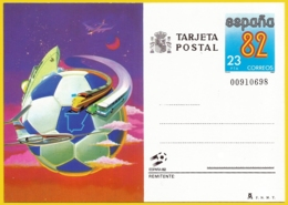 España. Spain. 1982. Postal Stationery. Entero Postal. Copa Mundial Futbol. ESPAÑA '82. - 1981-90 Ongebruikt