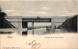 Mons - Le Pont De La Porte Du Parc - Nels Série 6 N° 47 - Petit Pli De Coin - Mons