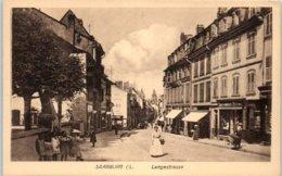 ALLEMAGNE --  SAARBURG - Langestrasse - Saarburg