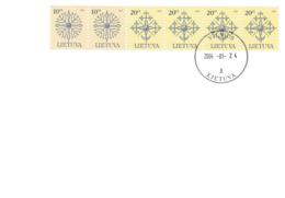 Litauen, 2004, 717/18 C IV, Denkmalsspitzen 2004. FDC - Lithuania