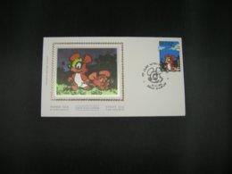 "BELG.1996 2663 FDC Soie/zijde (Wilrijk) : ""Jeugdfilatelie-Philatélie De La Jeunesse -Chlorophylle "" - FDC"