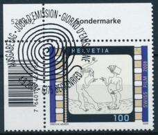1289 Eckrandstück Serie Mit ET-Vollstempel / Obliteré Plein - Switzerland