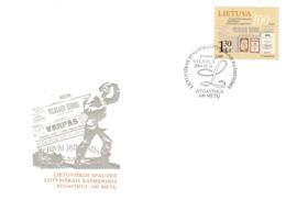 Litauen, 2004, 846, Wiedereinführung Des Druckes Litauischer Texte Mit Lateinischen Buchstaben. FDC - Lithuania