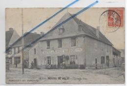 CPA 63 PUY DE DOME MONTEL DE GELAT GRANDE RUE  ** HOTEL DE LA PAIX MASSON ** - Autres Communes