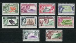 """Pitcairn - Mi.Nr. 943 / 952 - """"75. Jahrestag Der Ausgabe Der Ersten Freimarkenserie"""" ** / MNH (aus Dem Jahr 2015) - Briefmarken"""