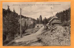 Semmering Austria  1907 Postcard - Semmering