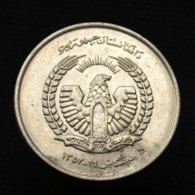 Afghanistan 5 Afghanis 1973, Km977, Asia Coin. UNC, - Afghanistan