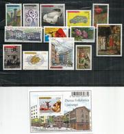 Année Complète 2013.  13 Timbres + 1 Bloc-Feuillet (Danses De L'Ours) Neufs ** - Frans-Andorra