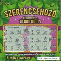 HUNGARY - LOTTERY - SZERENCSEHOZÓ - Lottery Tickets