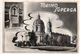 TORINO-SUPERGA-VERA FOTO-1953-F.G - Churches
