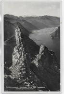 AK 0325  Gmunden - Blick Vom Traunstein / Gamskogl Mit Dachstein Um 1932 - Gmunden