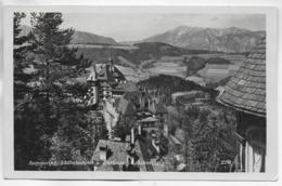 AK 0325  Semmering - Südbahnhotel Und Kurhaus Gegen Schneeberg Um 1930 - Semmering
