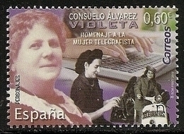 2019-ED. 5313 SERIE COMPLETA - Consuelo Álvarez, Violeta. Homenaje A La Mujer Telegrafista-NUEVO - 1931-Today: 2nd Rep - ... Juan Carlos I