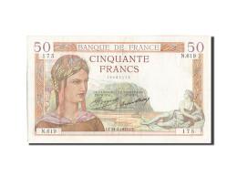 Billet, France, 50 Francs, 50 F 1934-1940 ''Cérès'', 1935, 1935-02-21, TTB - 1871-1952 Gedurende De XXste In Omloop