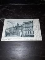 Cartolina Postale, Postcard 1899, Asch, Kaiserstrasse - Tschechische Republik