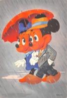 """0761 """"TOPOLINO E MINNI""""  CART. ILL. ORIG. NON SPED. - Disneyworld"""