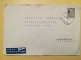 1969 BUSTA TURCHIA TURKIYE TURKEY BOLLO MUSTAFA KEMAL ATATURK OBLITERE ANNULLO TESVIKIYE PAR AVION AIR MAIL - Storia Postale