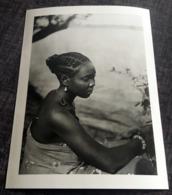 "Old Press Photo ""Afrika - Portrait Hübsche Frau / Jeune Femme Afrique / Pretty African Girl"" [19-2644] - Fotos"