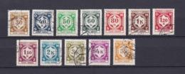 Böhmen Und Mähren - 1941 - Dienstmarken - Michel Nr. 1/12 - Gest. - Besetzungen 1938-45