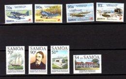 Samoa 1994-95, Louis Stevenson, 2° Guerre Mondiale, Entre 792 Et 817**, Cote 16 €, - Samoa
