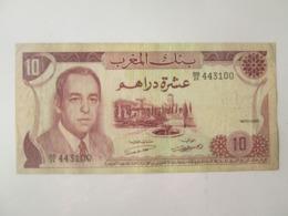 Morocco 10 Dirhams 1970 Banknote - Marocco
