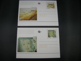 BELG.1996 BK50** & BK51** : Pol Mara, Paul De Gobert. - Illustrat. Cards