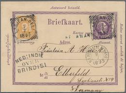 Nachlässe: ALLE WELT - Phantastischer, Komplett Belassener Bestand Briefe, Karten Und Ganzsachen Aus - Vrac (min 1000 Timbres)