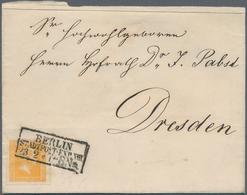 Nachlässe: 1850/1930, Sammlernachlaß Mit Ca. 150 Briefen, Teilbriefen Und Vorderseiten Aus Deutschla - Vrac (min 1000 Timbres)