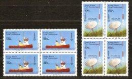 Cept 1988 Chypre Turc Turks Cyprus Yvertn° 208-209 *** MNH 4 Ex. Cote 16,00 € Transport Communication - 1988