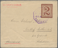 Guatemala - Ganzsachen: 1890/1900, 25 Stationaries, Mostly Used Commercially Abroad Or As Inland Mai - Guatemala