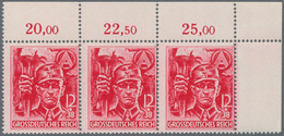 Deutsches Reich - 3. Reich: 1945, Postfrische Partie Mit 151 Sätzen SA / SS In Einheiten, Dabei Auch - Deutschland