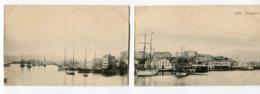 CRETE LA CANEE  Rare  4 Cartes  Panorama Du Port De La Canée   Editeur Cavaliero  1900  D15 2019 - Grecia