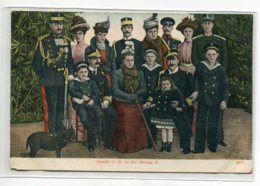 GRECE Carte RARE  Famille S.M Du Roi George II No 9811 - Dos Non Divisé   D15 2019 - Grecia
