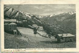 Pratomaso (1920) Il Sanatorio Pop. Umberto I - Sondrio